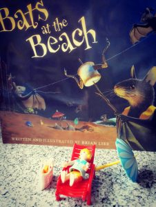 Buchcover von Brian Lies Bats at the Beach