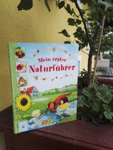 Minna Lacey und Stephen Cartwright Mein erster Naturführer Buchtipp geniales Kindersachbuch Buchempfehlung Buchblog Kinder und Jugendliche Brigitte Wallinger
