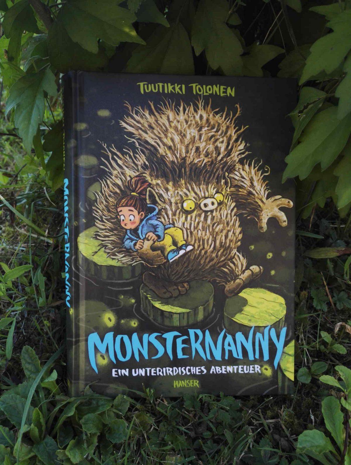 Tuutikki Talonen Monsternanny Ein unterirdisches Abenteuer Buchempfehlung Buchtipp genailes Kinderbuch Kinderbuchblog Brigitte Wallinger