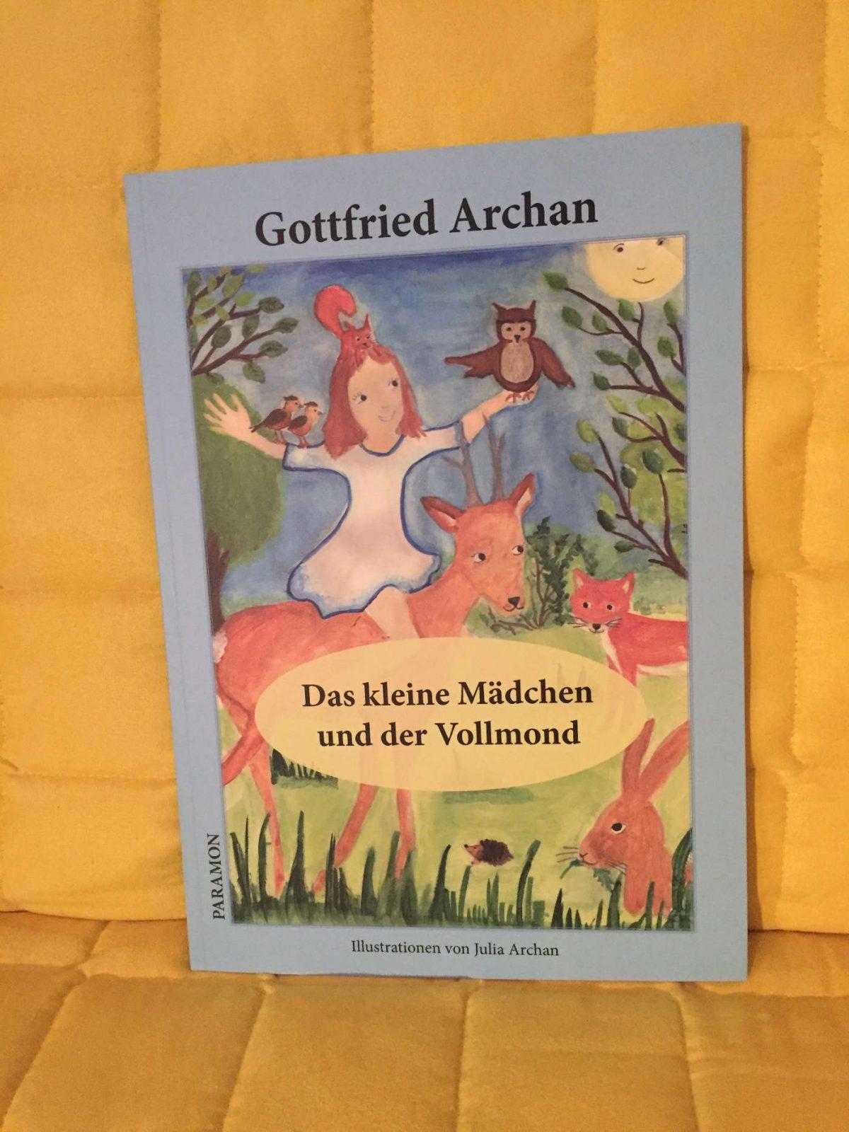 Gottfried Archan: Das kleine Mädchen und der Vollmond