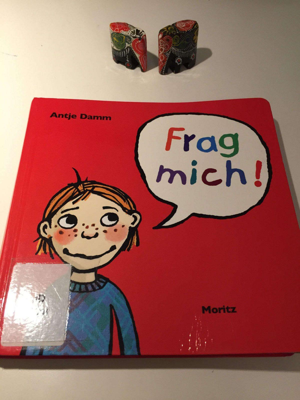 Antje Damm Frag mich 118 Fragen an Kinder um miteinander ins Gespraech zu kommen Kinderbuchblog Brigitte Wallinger Buchtipp Kinderbuchempfehlung