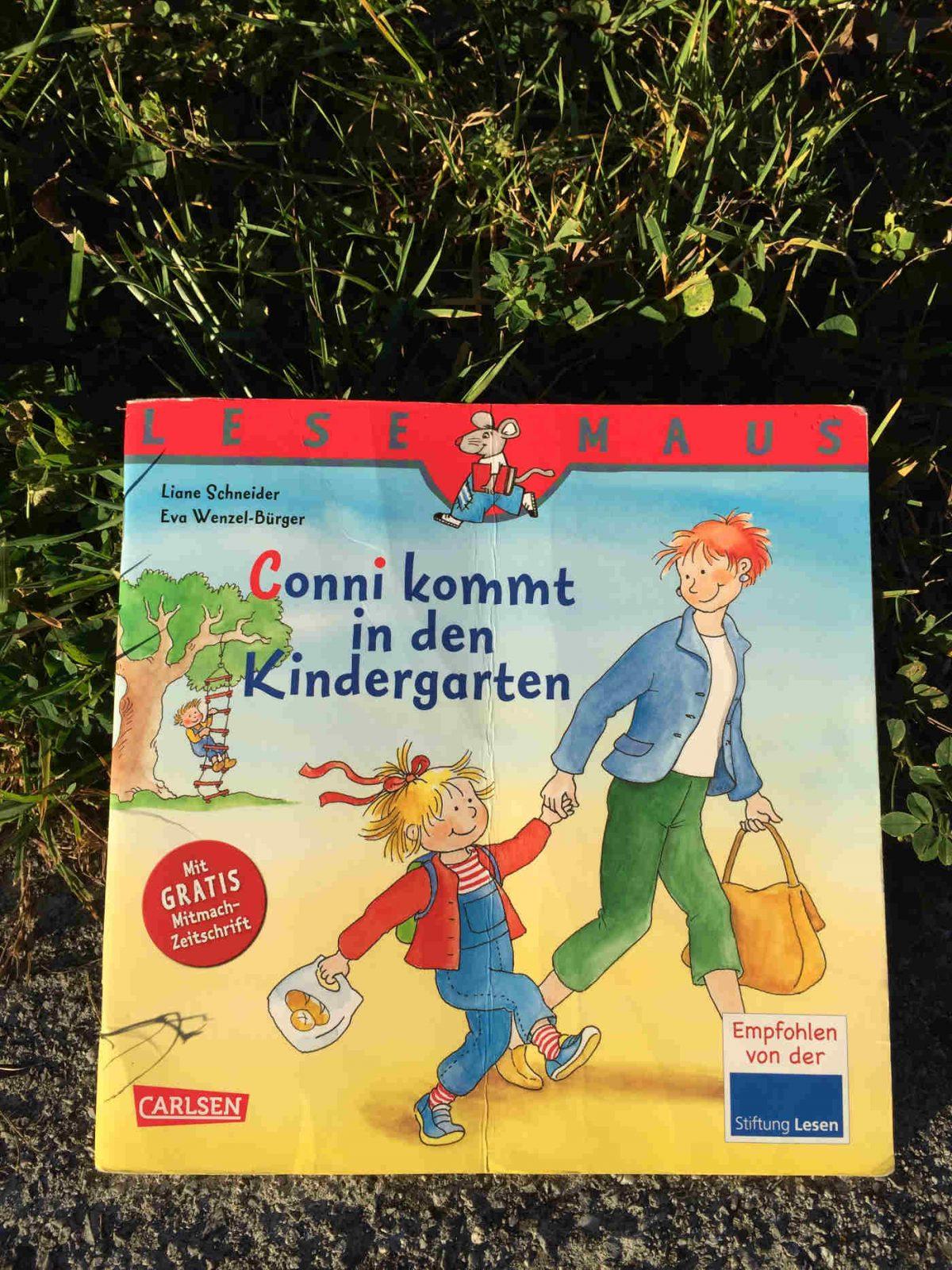 Liane Schneider und Eva Wenzel-Bürger Conni kommt in den Kindergarten Buchtipp Buchempfehlung Mitbringsel Kinder ab 3 Brigitte Wallingers Kinderbuchblog Jugendbuchblog empfehlenswert genial