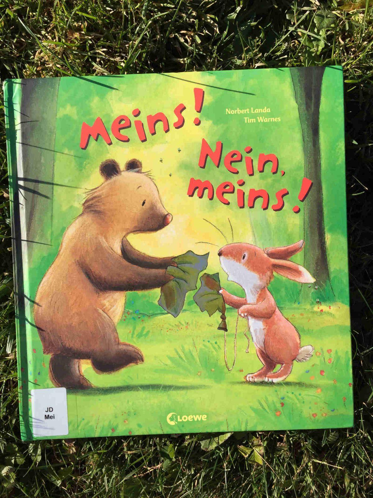 Norbert Landa und Tim Warnes:Meins! Nein, meins!