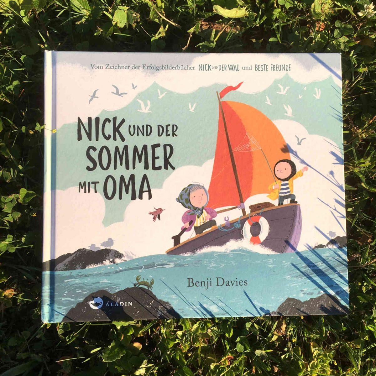 Benji Davies: Nick und der Sommer mit Oma