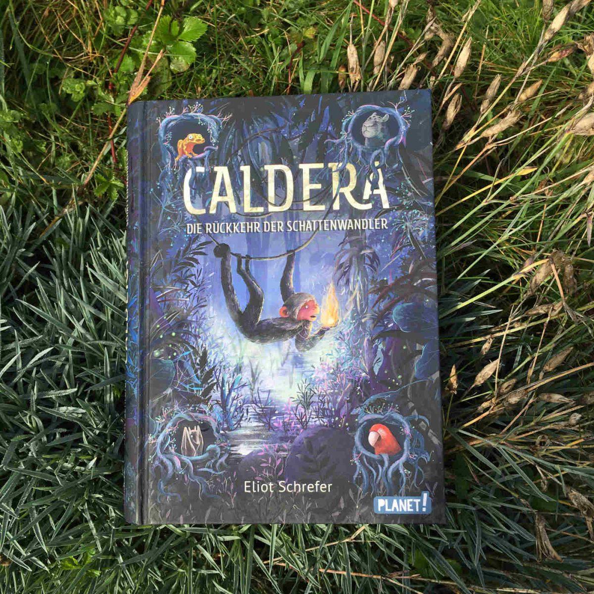 Eliot Schrefer: Caldera – Die Rückkehr der Schattenwandler