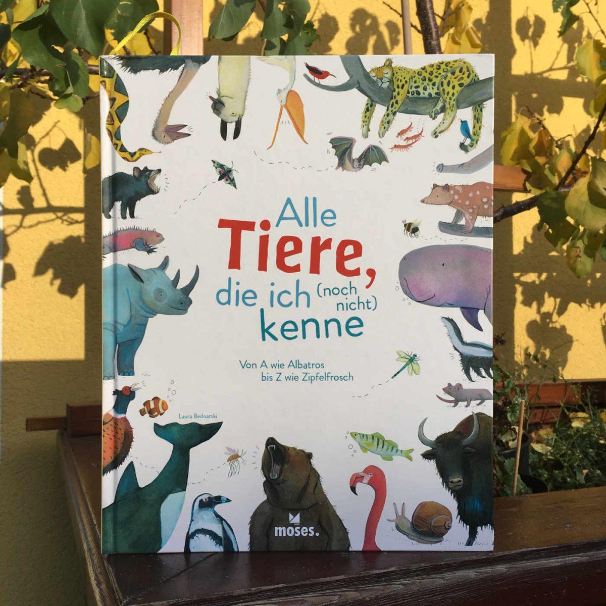 Laura Bednarski: Alle Tiere, die ich (noch nicht) kenne