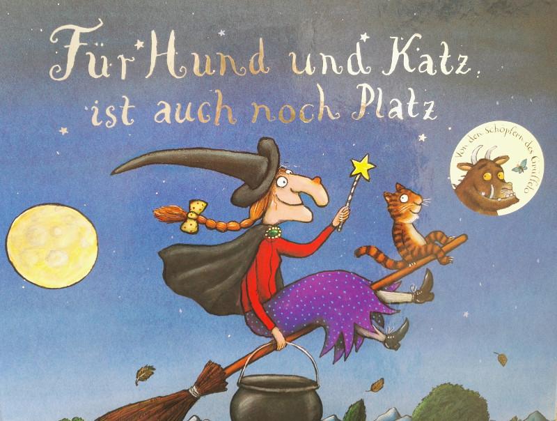 Axel Scheffler Und Julia Donaldson Fur Hund Und Katz Ist Auch Noch Platz Brigitte Wallingers Kinderbuchblog