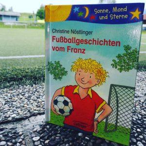 Christine Nöstlinger Fußballgeschichten vom Franz Buchtipp WM Kinderbuchempfehlung Brigitte Wallingers Kinderbuchblog