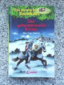 Mary Pope Osborne Das magische Baumhaus Der geheimnisvolle Ritter Buchtipp Kinderbuchblog Brigitte Wallinger Jugendbuchblog Buchempfehlung zum Selberlesen ab 8 Jahren