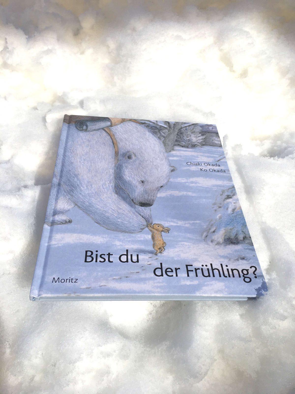 Chiaki Okada Ko Okada Bist du der Frühling? Bilderbuchtipp Buchempfehlung für Kinder Brigitte Wallingers Kinderbuchblog Jugendbuchblog Buchempfehlung Vorlesebuch