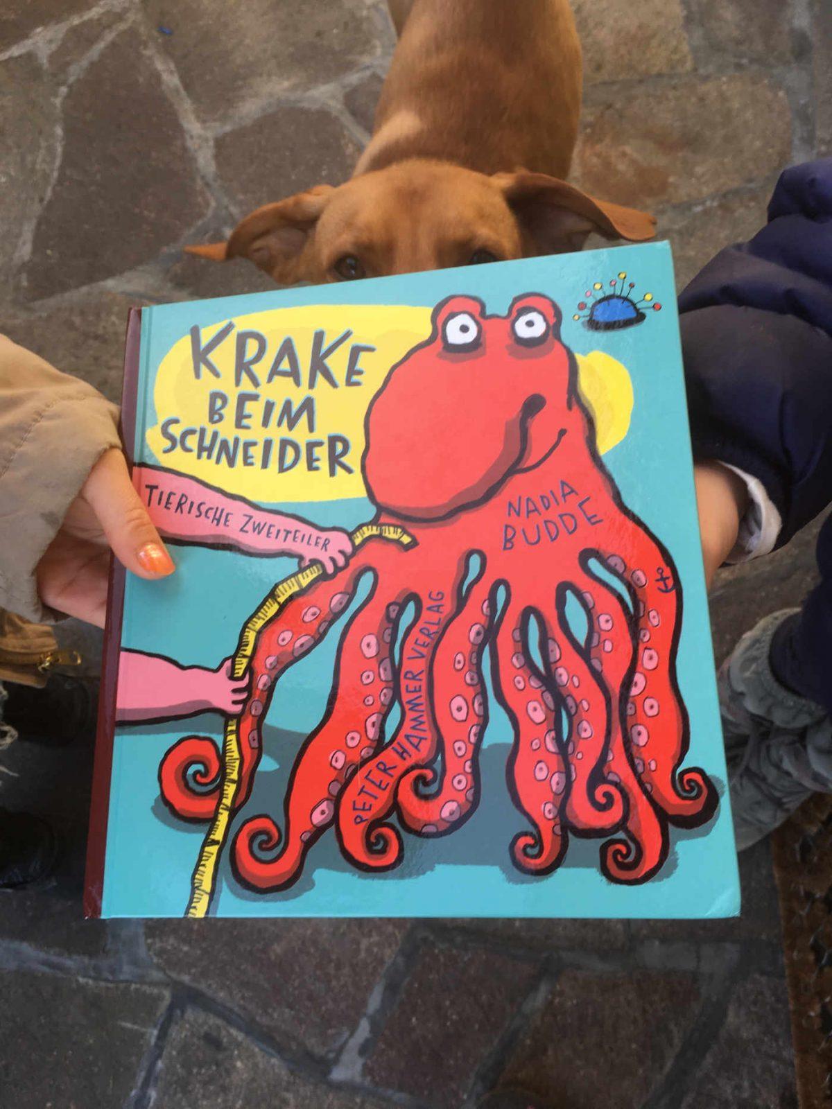 Nadia Budde Krake beim Schneider: Tierische Zweiteiler
