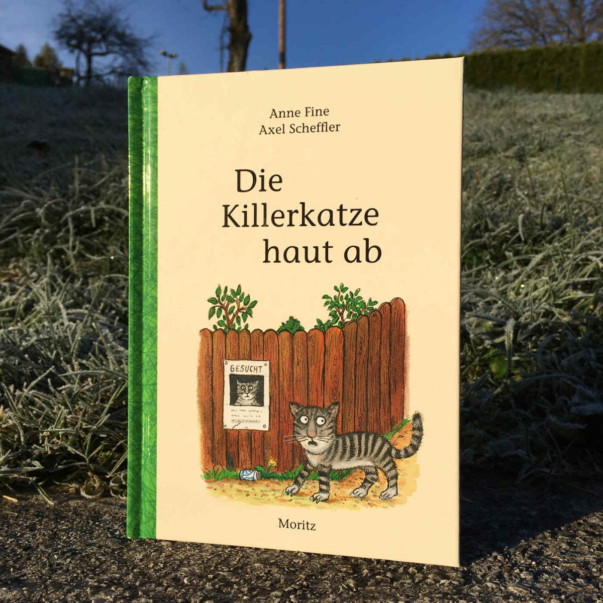 Anne Fine und Axel Scheffler: Die Killerkatze haut ab