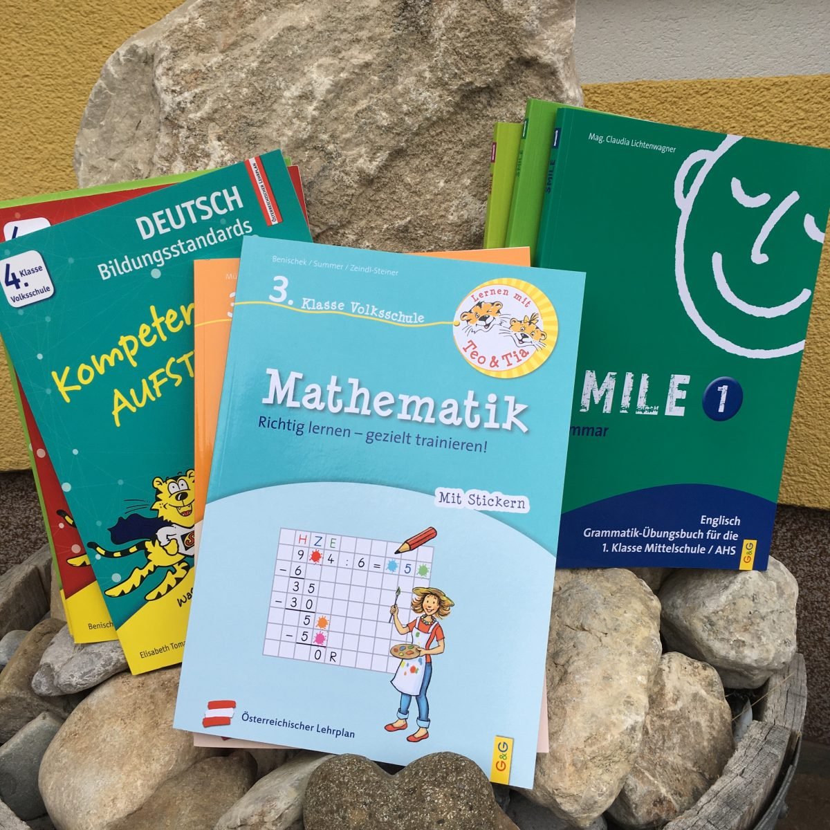Lernhilfen, Übungsmaterial und Ferienhefte für den österreichischen Lehrplan