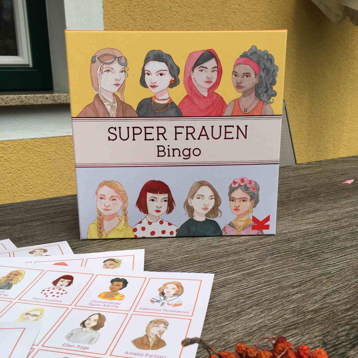 Isabel Thomas und Laura Bernard: Super Frauen Bingo