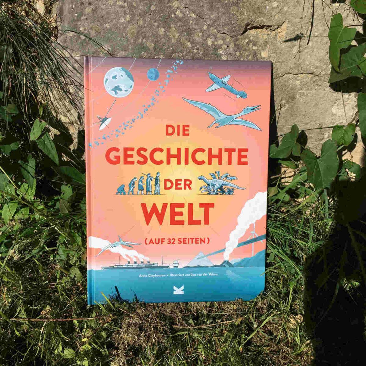Anna Claybourne und Jan van der Veken: Die Geschichte der Welt (auf 32 Seiten)