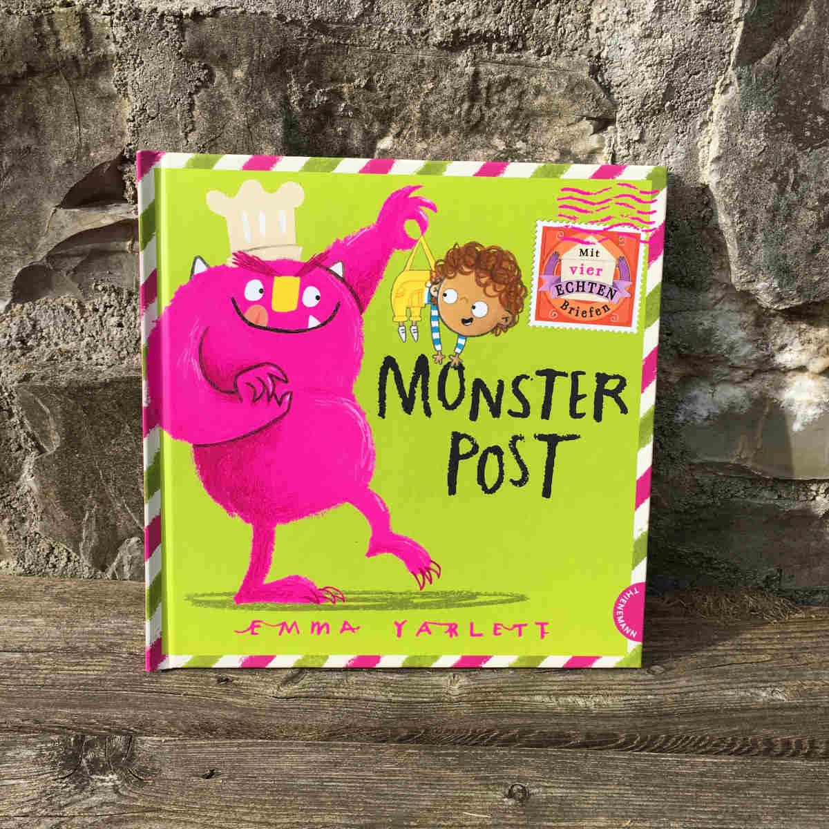 Emma Yarlett Monsterpost Brigitte Wallingers Kinder- und Jugendbuchblog Buchtipps für Kinder und Jugendliche Kids und Teens Buchempfehlung musst du lesen