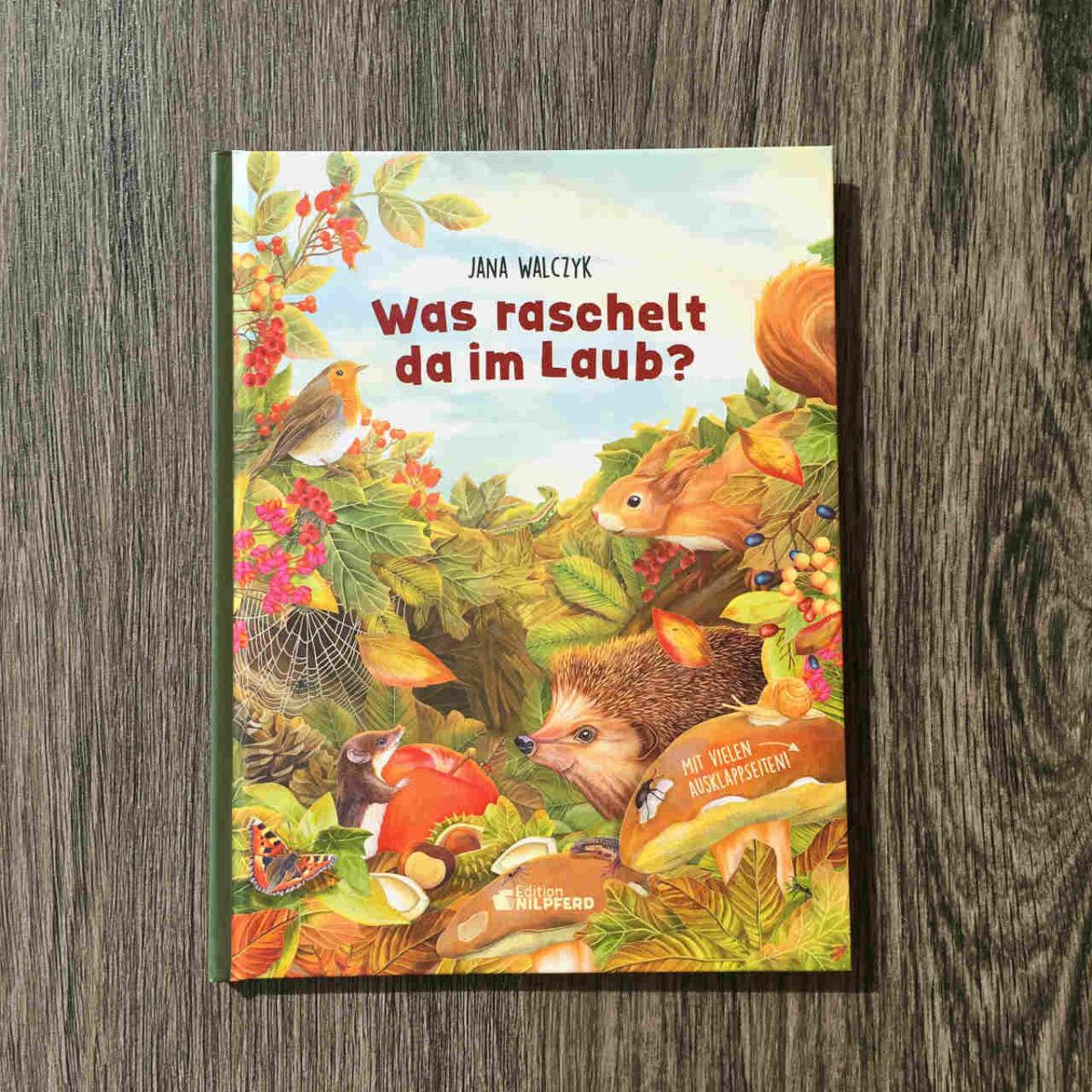 Herbstabenteuer für schlaue Kids: Was raschelt da im Laub?
