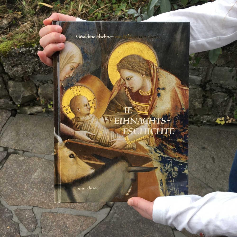 Geraldine Elschner Giotto Die Weihnachtsgeschichte Brigitte Wallingers Kinder- und Jugendbuchblog Buchtipps für Kinder und Jugendliche Kids und Teens Buchempfehlung musst du lesen