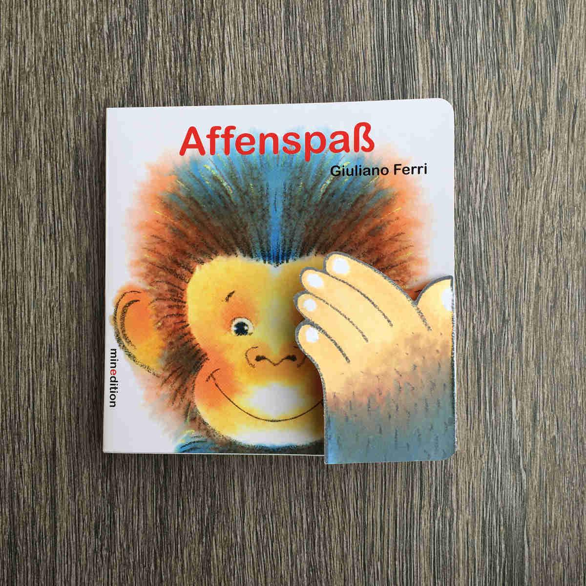 Ein Affenspaß für die Kleinsten: Ein lustiges Pappbilderbuch von Giuliano Ferri