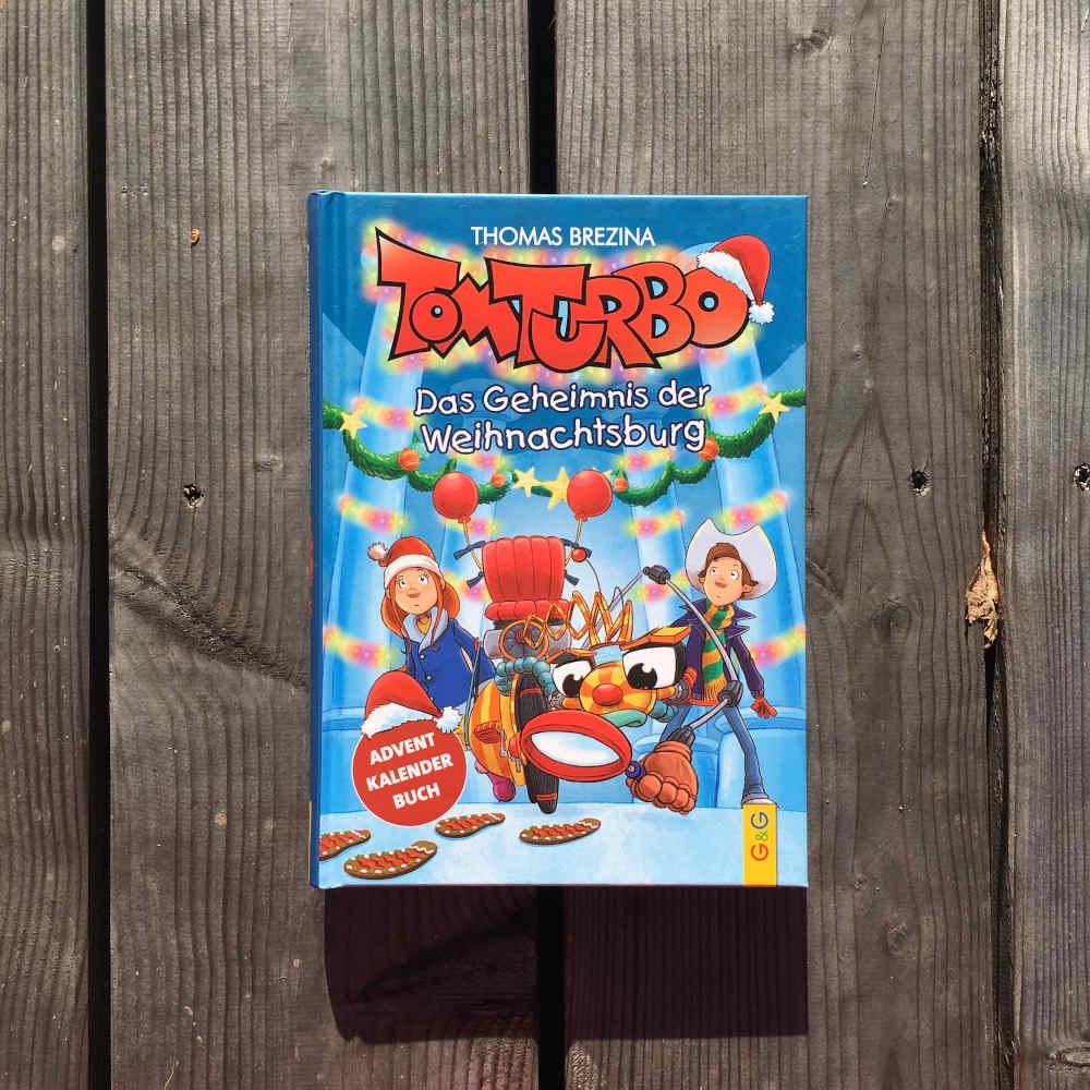 Thomas Brezina Tom Turbo Das Geheimnis der Weihnachtsburg Brigitte Wallingers Kinder- und Jugendbuchblog Buchtipps für Kinder und Jugendliche Kids und Teens Buchempfehlung musst du lesen