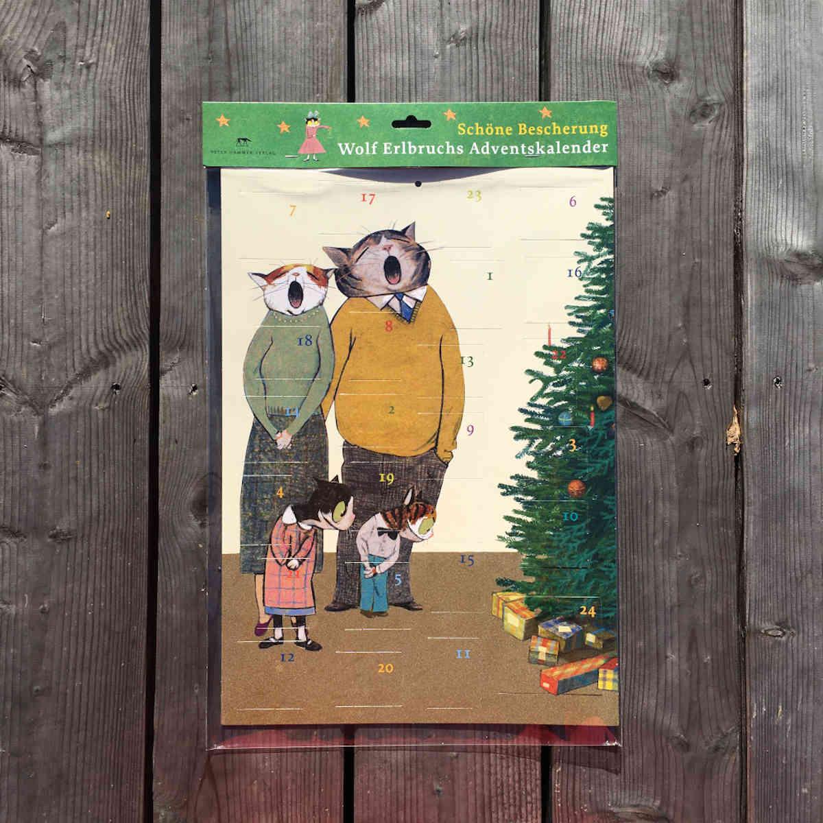 """Wolf Erlbruchs Adventskalender """"Schöne Bescherung"""" bringt uns lachend durch den Coronaadvent"""