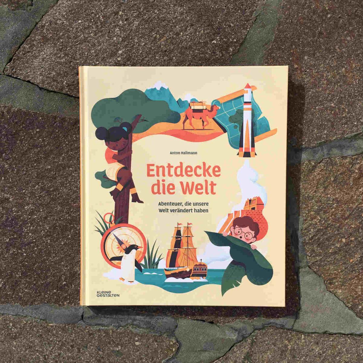 Originelles Kindersachbuch über Abenteuer und Expeditionen