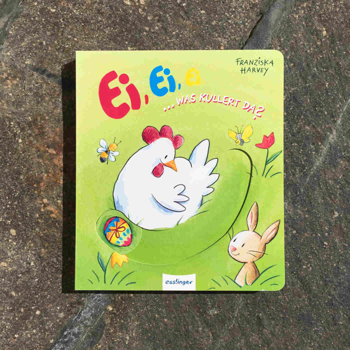 Ein besonders süßes Mitmach-Osterbuch