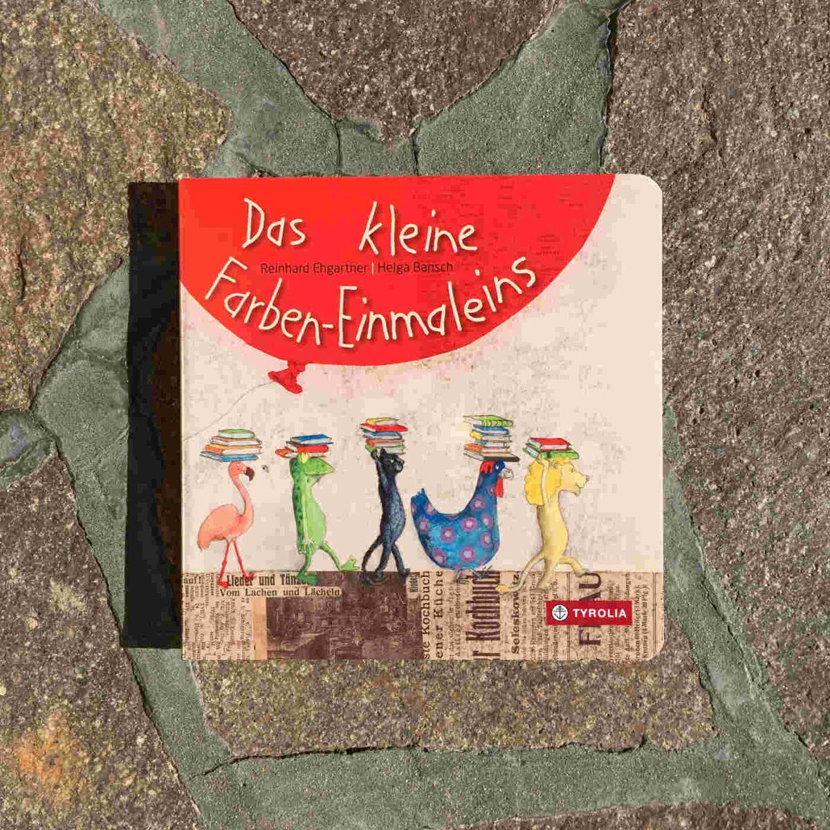 Ein bezauberndes erstes Farben-, Zahlen- und Tierbuch