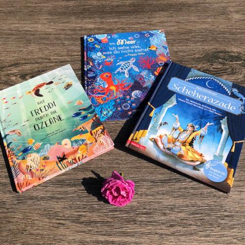 Meeresbücher für den Sommer